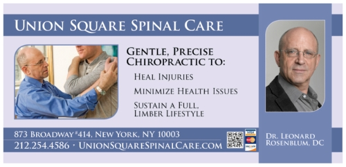 Dr. Lenny | Union Square Spinal Care